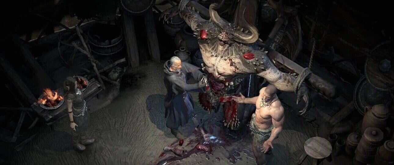 Otwarty świat Diablo 4, które nie wiadomo kiedy wyjdzie