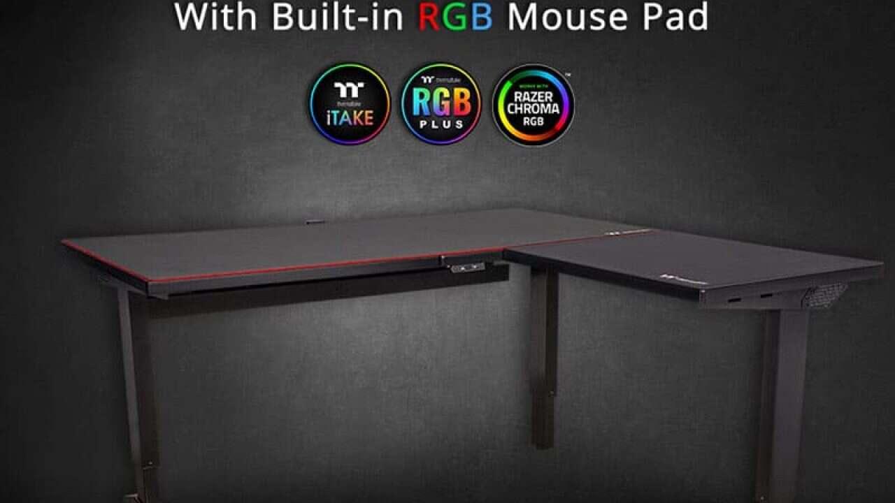 ToughDesk 500L RGB Battlestation to największe biurko dla graczy
