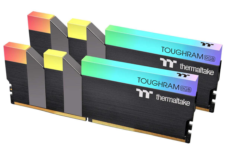 thermaltake Toughram RGB, pamięci Toughram RGB