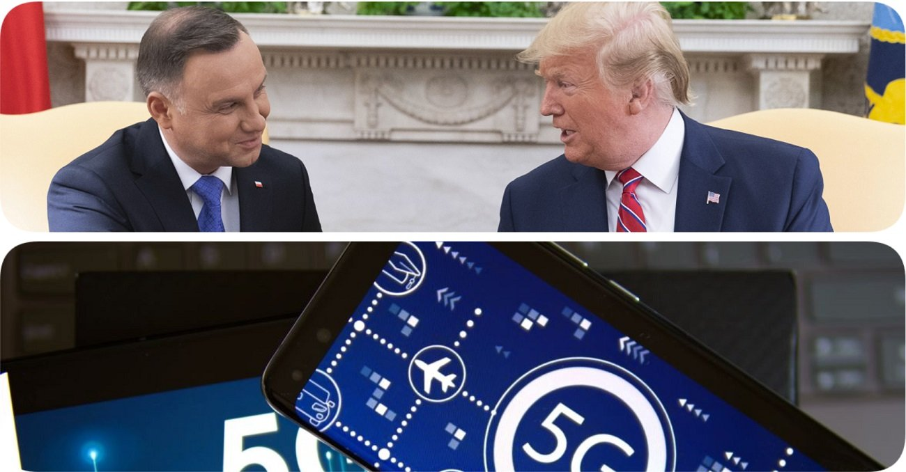 Dni 5G Huaweia w Polsce mogą być policzone? Gorąco po spotkaniu Dudy i Trumpa