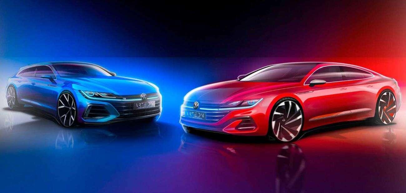 VW Arteon, nowe modele Arteon, Volkswagen Arteon 2021, Arteon 2021