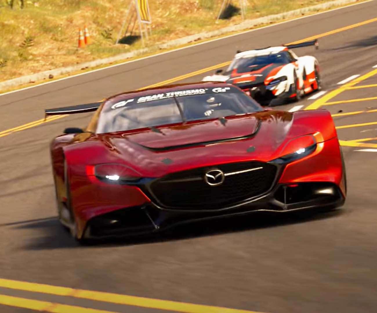 Wczesna wersja Gran Turismo 7 vs GT Sport vs Forza 7 – kto się bardziej błyszczy?