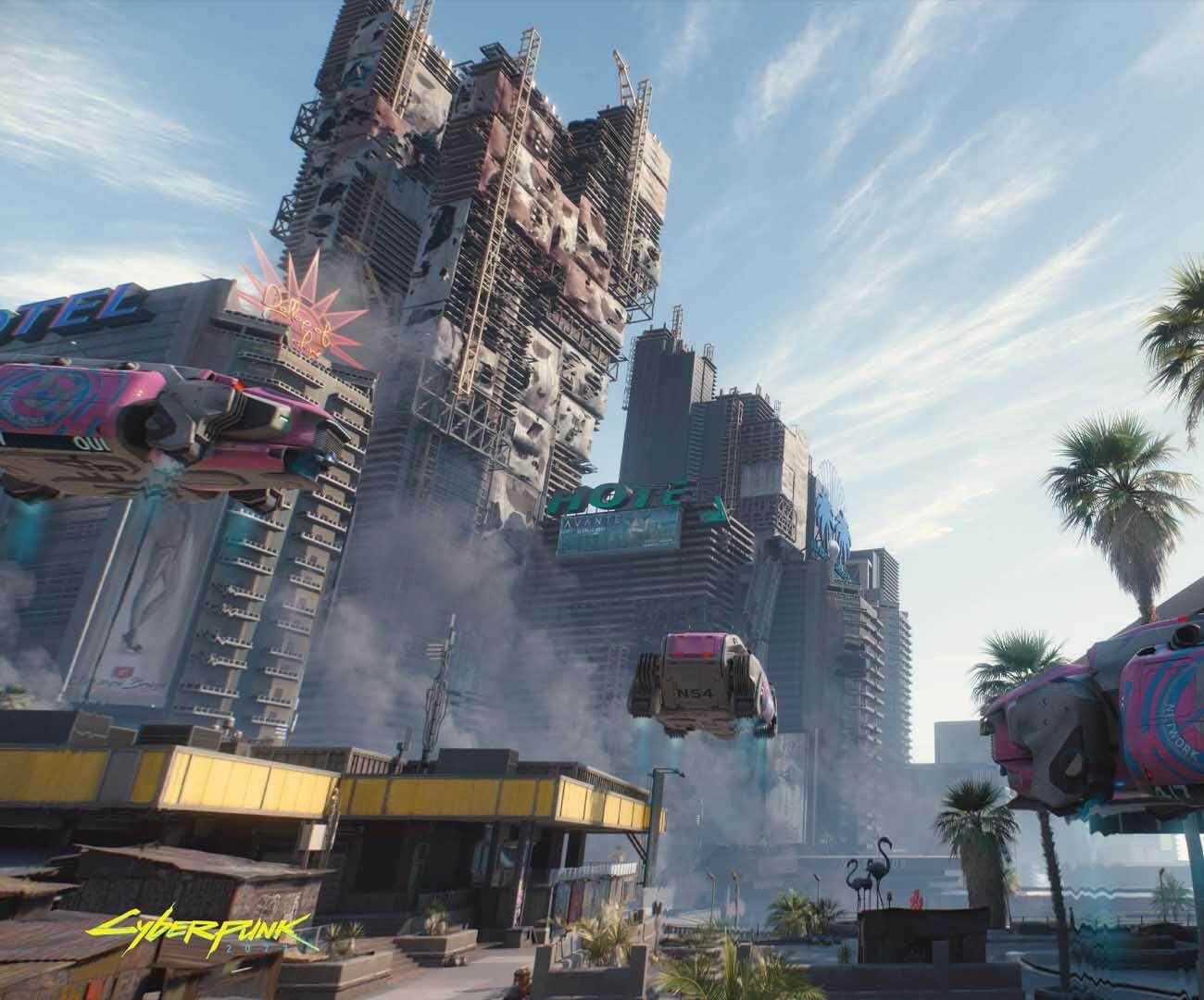Wspinaczka po wieżowcach w Cyberpunk 2077. Tylko REDzi mogli coś takiego zrobić