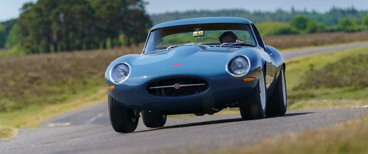 Wyścigowy Jaguar po przeróbce na Eagle Lightweight GT
