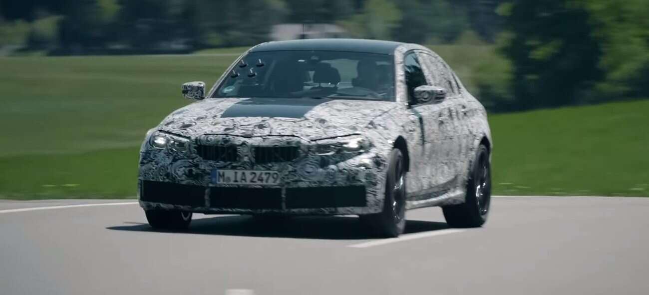 Zapowiedź nowego BMW M3 ukazuje jego szaleństwa na torze