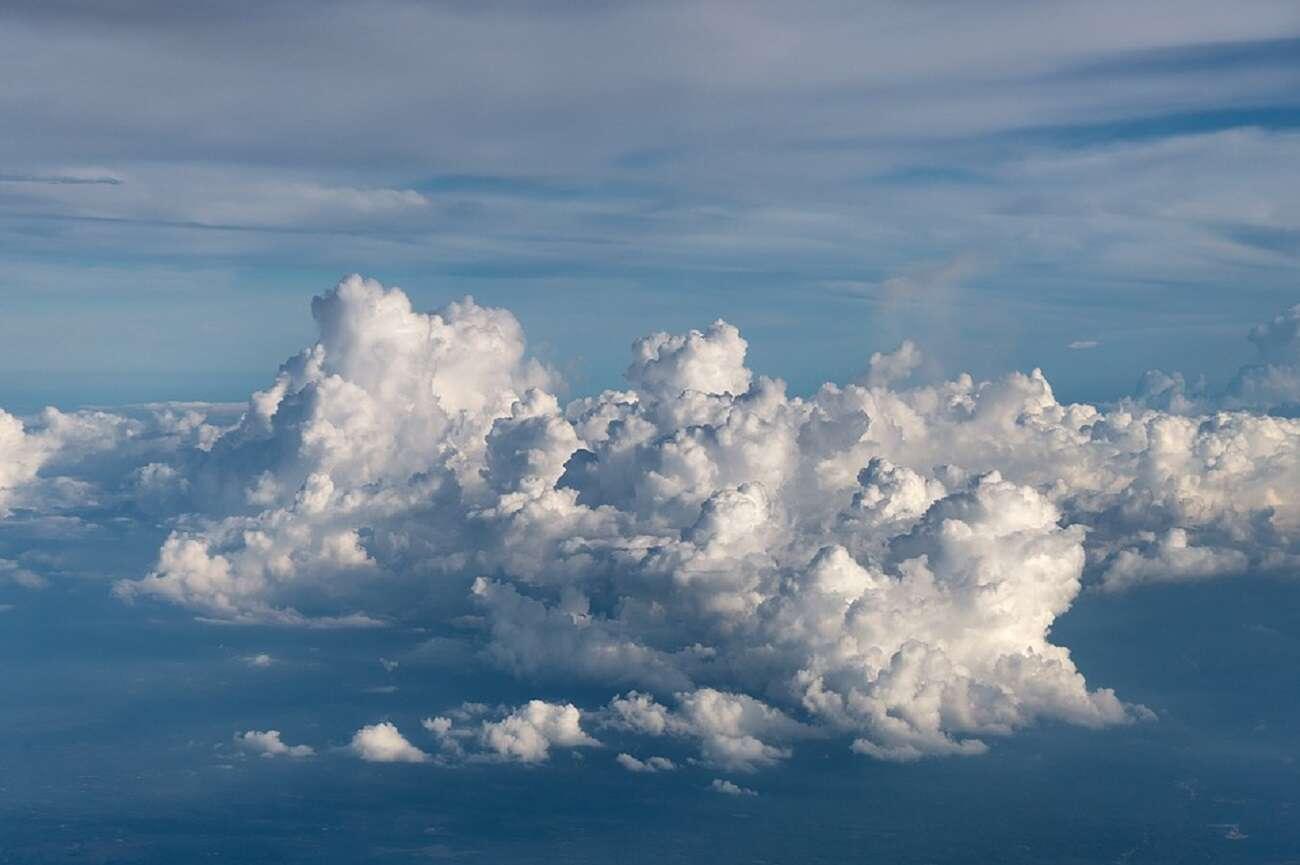 chmury, klimat, zmiany klimatu