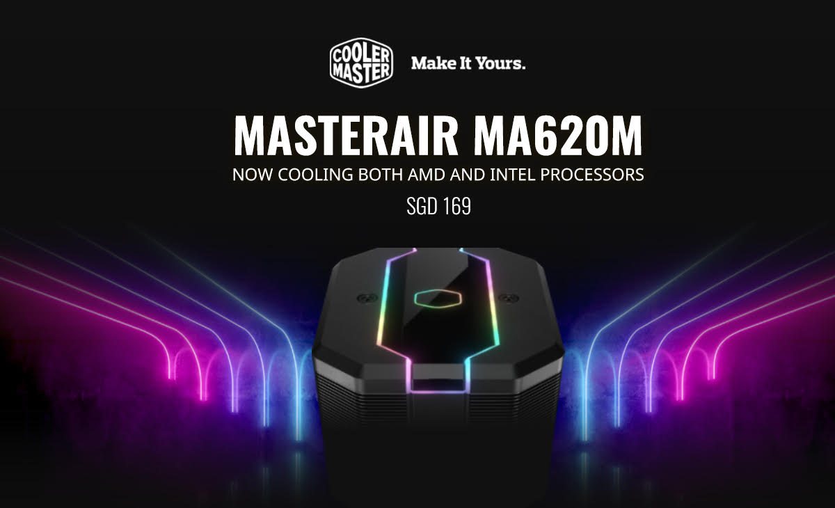 Test chłodzenia Cooler Master MA620M