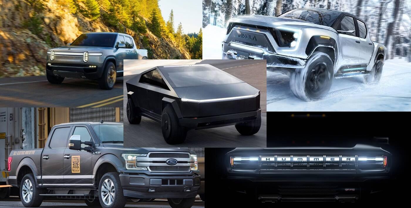 Elektryczne pickupy to nie tylko Cybertruck Tesli