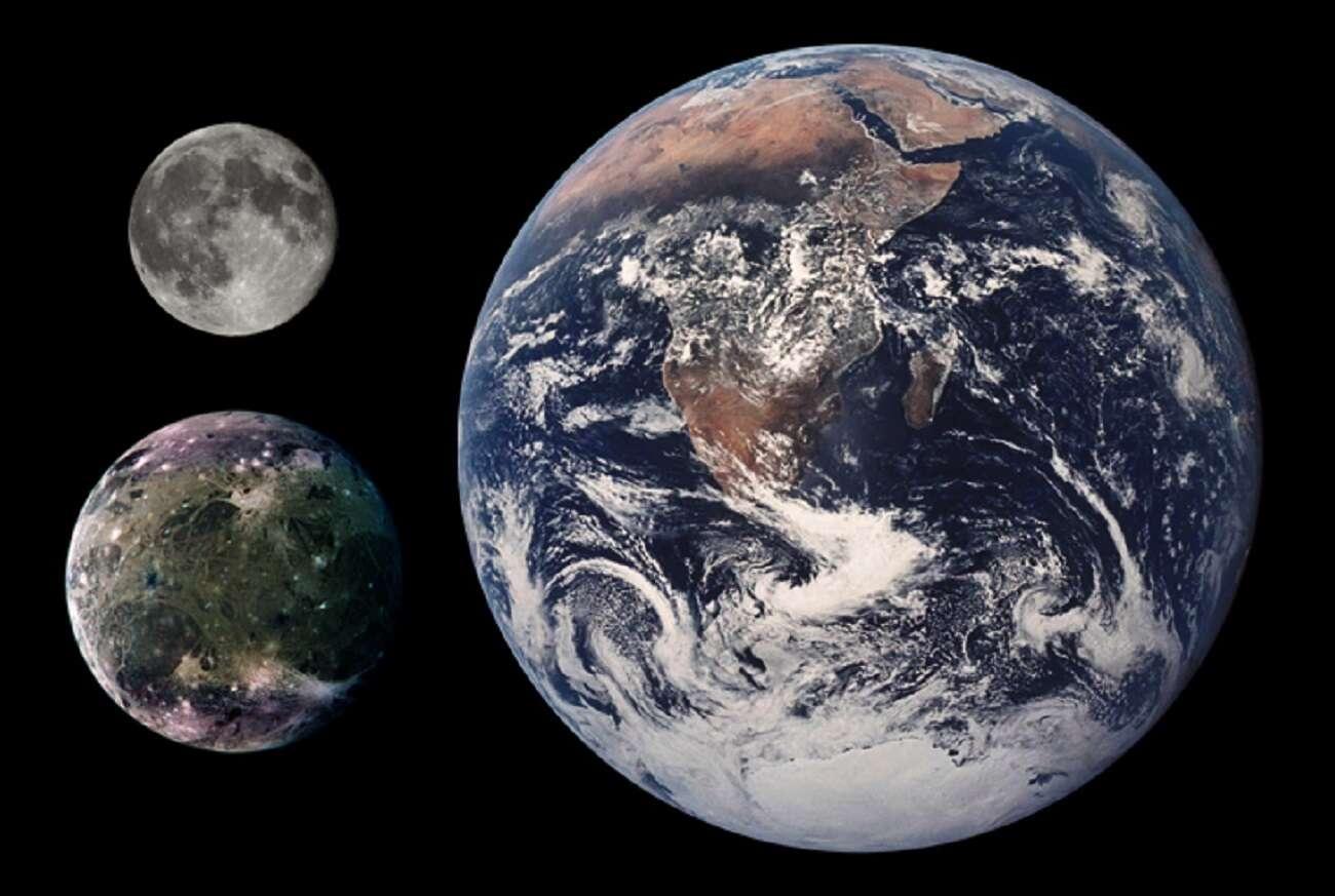 Na największym księżycu Jowisza odkryto tajemnicze formacje