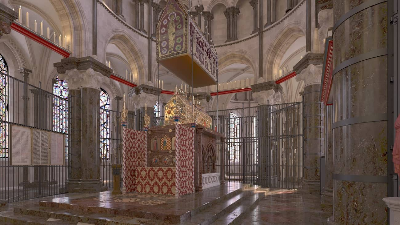 Zobaczcie cyfrową rekonstrukcję najsłynniejszej brytyjskiej świątyni