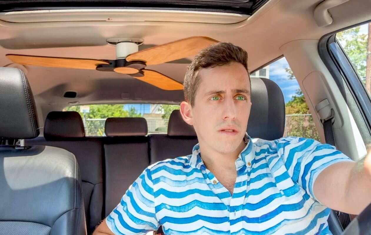 Lato w samochodzie bez klimatyzacji? Pomoże... wentylator sufitowy