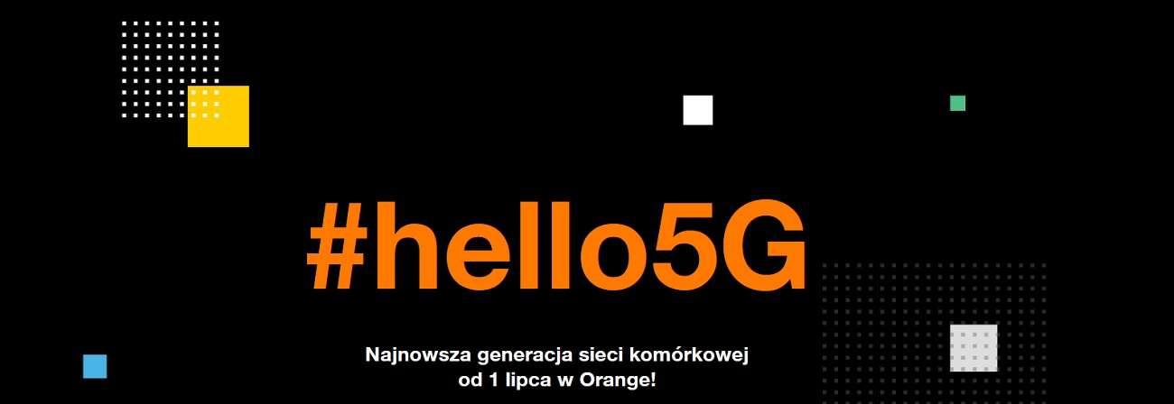5G w Orange dla wszystkich, ale nie na zawsze