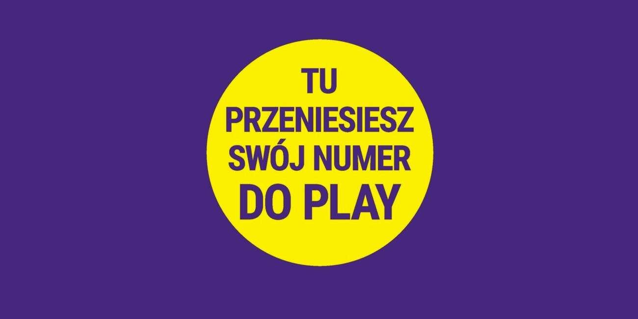 Przeniesienie numeru do Play załatwisz na poczcie