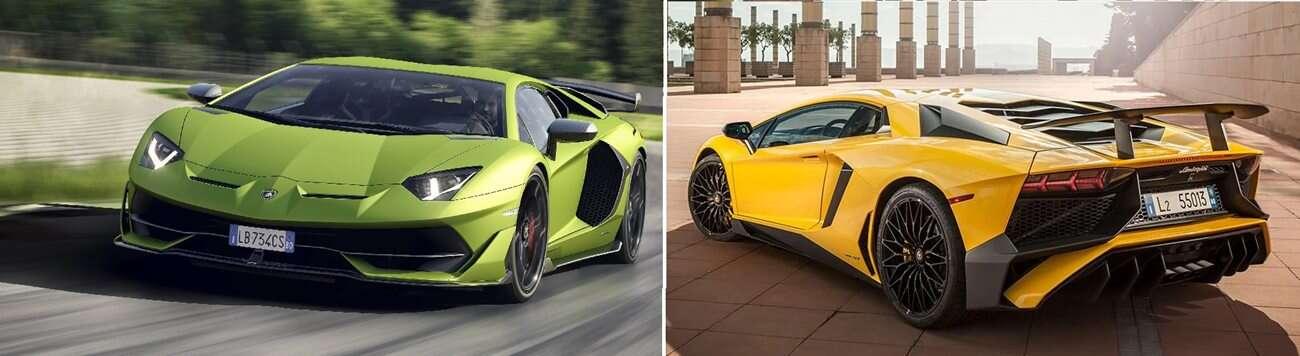 Pojedynek Lamborghini, czyli Aventador SVJ kontra SV