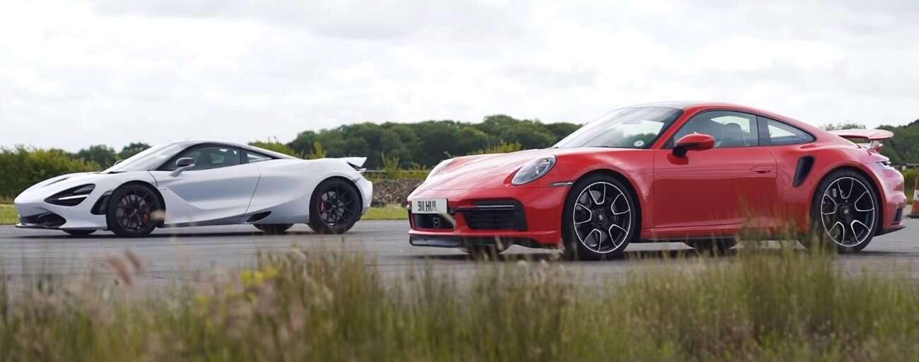 Pojedynek tytanów, czyli Porsche 911 Turbo S kontra McLaren 720S