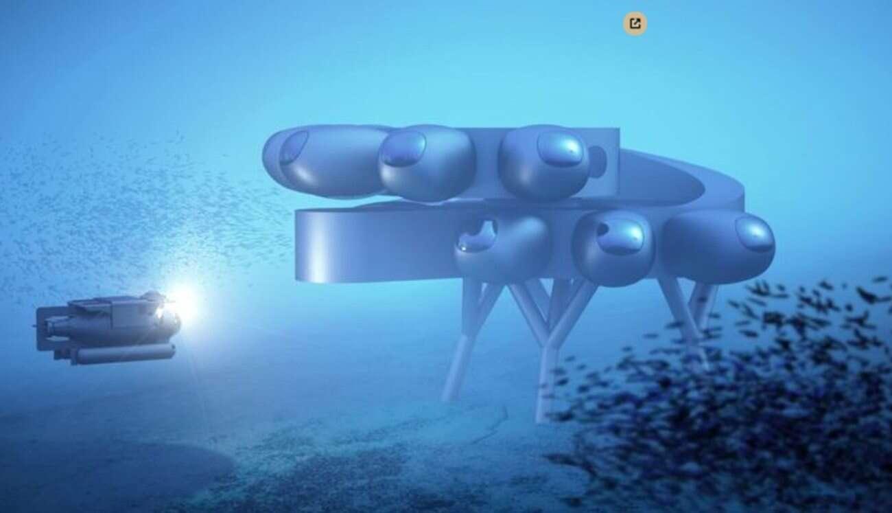 Proteus będzie podwodnym odpowiednikiem Międzynarodowej Stacji Kosmicznej