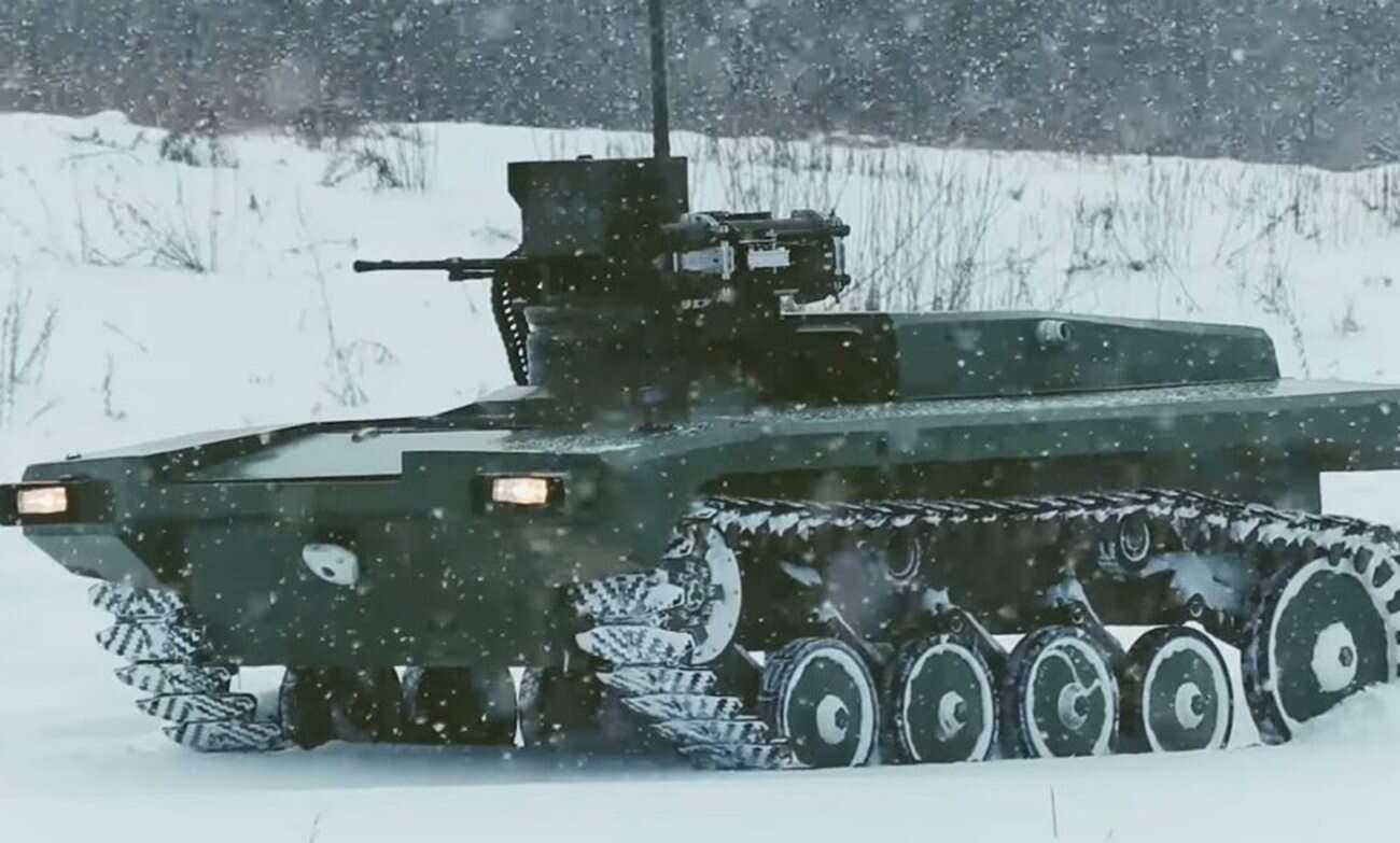 Rosja i wojskowe roboty sterowane głosem. Co może pójść nie tak?
