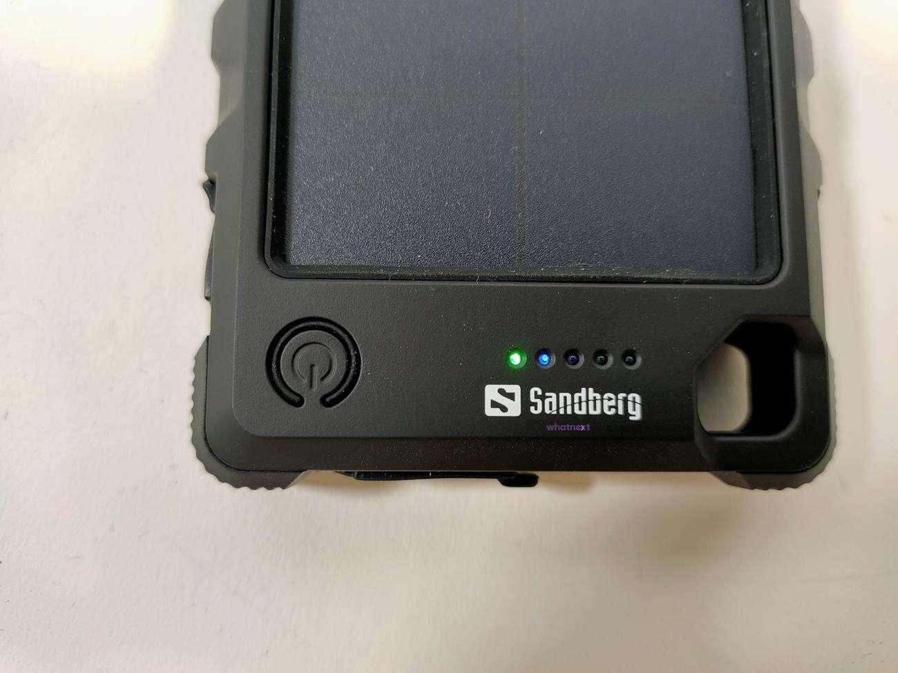 Test powerbanku Sandberg Outdoor Solar Powerbank 10000