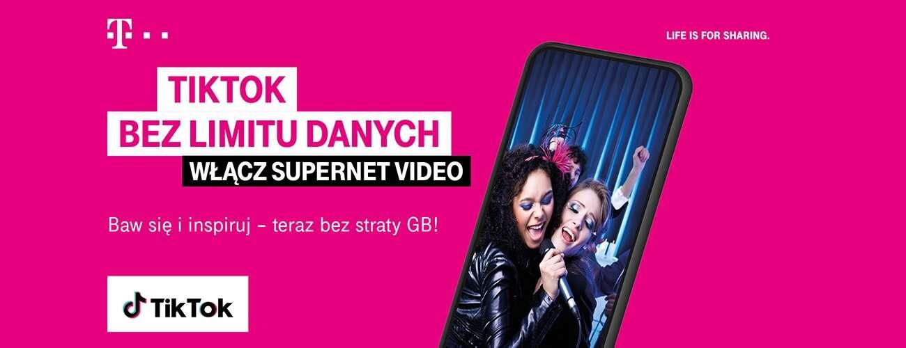 T-Mobile – 5 GB za darmo i nielimitowany TikTok