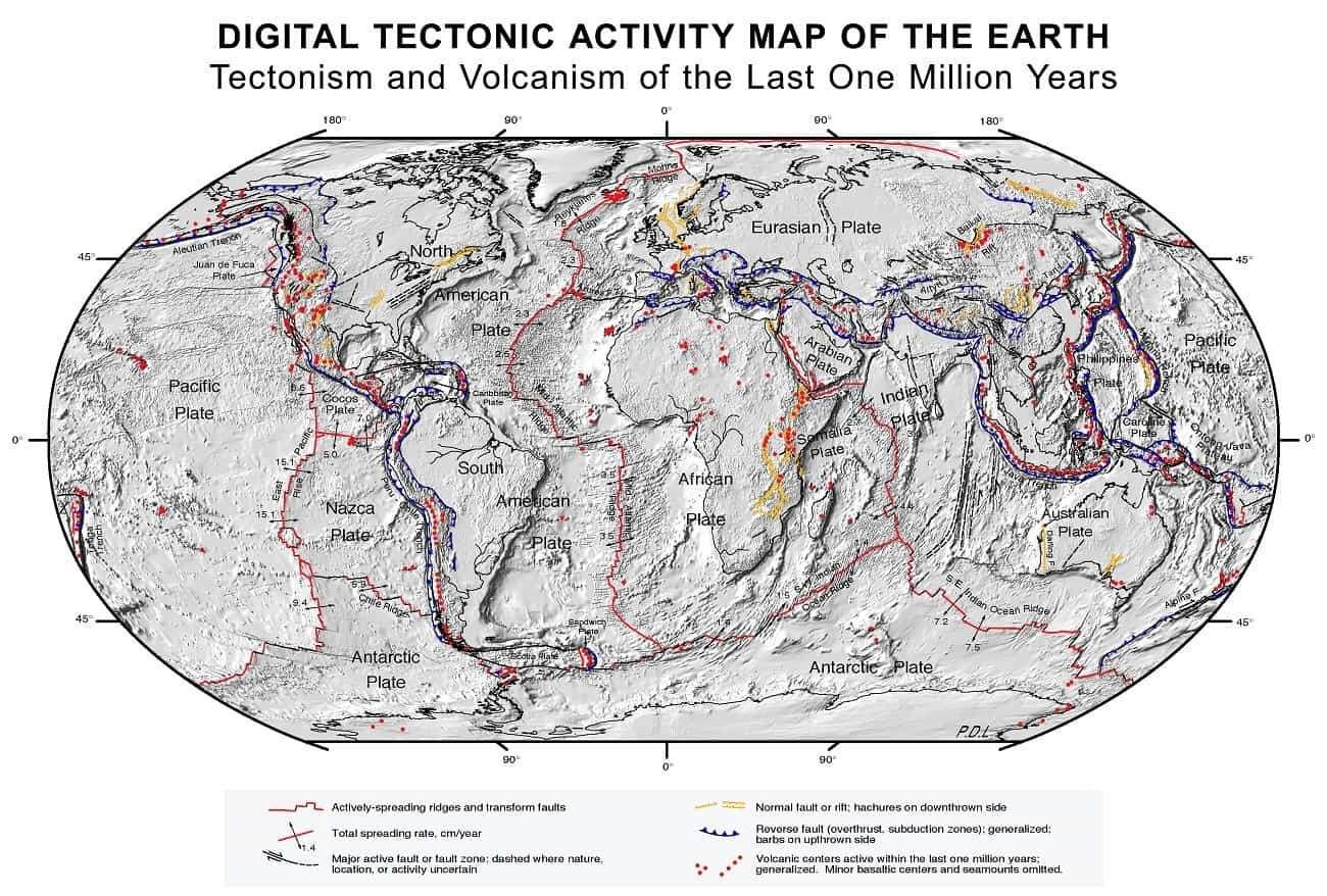 Nowa teoria dot. powstania płyt tektonicznych na Ziemi zaskakuje