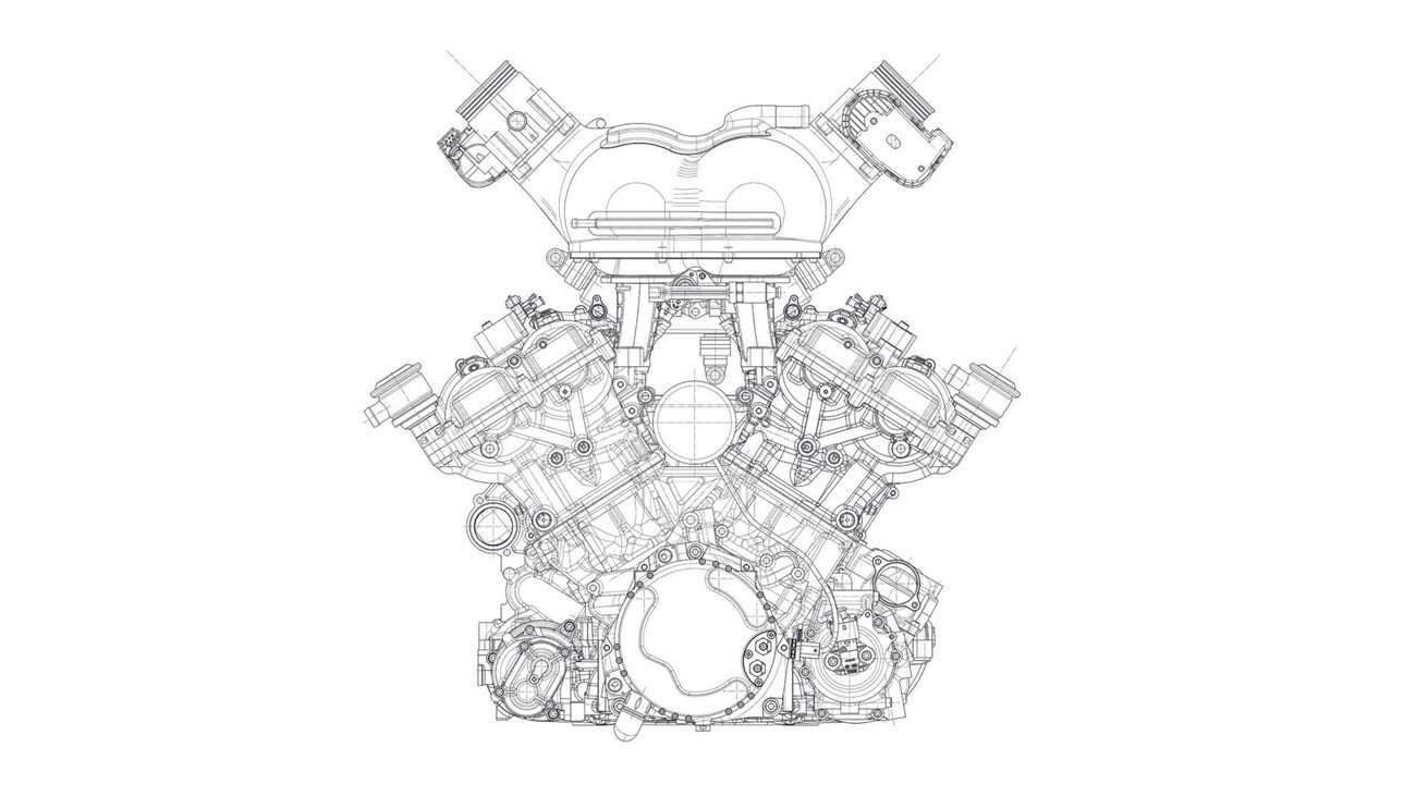 Ten silnik napędzi najlepszy supersamochód. Oto V12 dla T.50 Gordon Murray