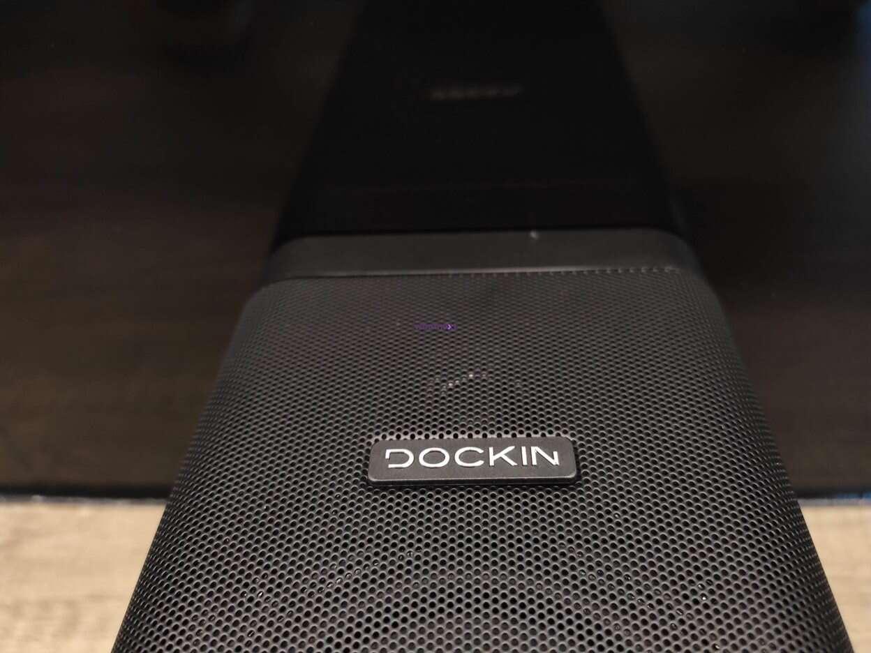 Test głośnika Dockin D Cube