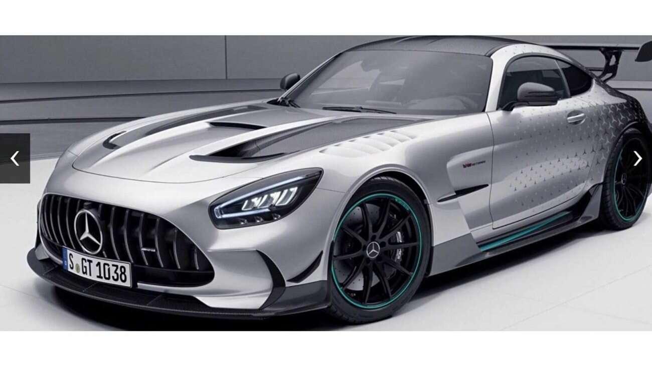 Wyjątkowy GT Black Series Mercedesa tylko dla oczekujących na AMG One