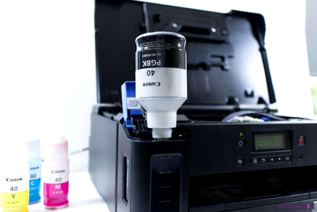 Test Canon PIXIMA G5040 – domowa drukarka nie tylko do dokumentów