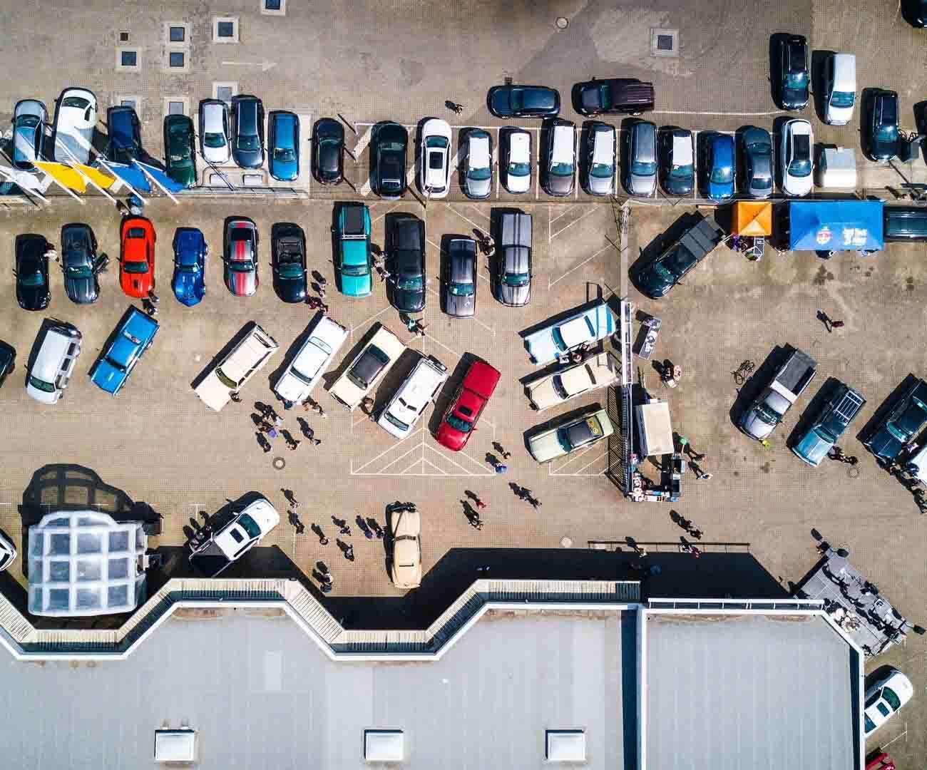 parking płatny, parking