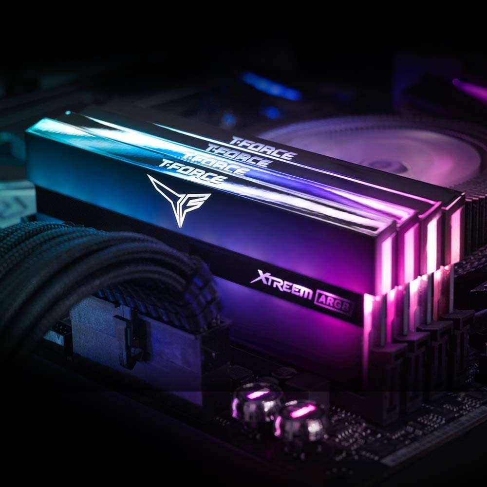 Test pamięci RAM Team Group T-Force Xtreem ARGB 2x 8GB 3600 MHz