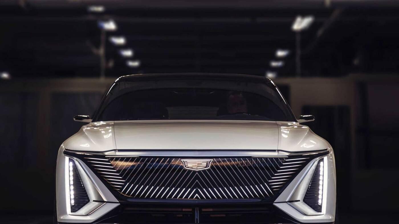 Elektryczny crossover Cadillac LYRIQ ujawniony