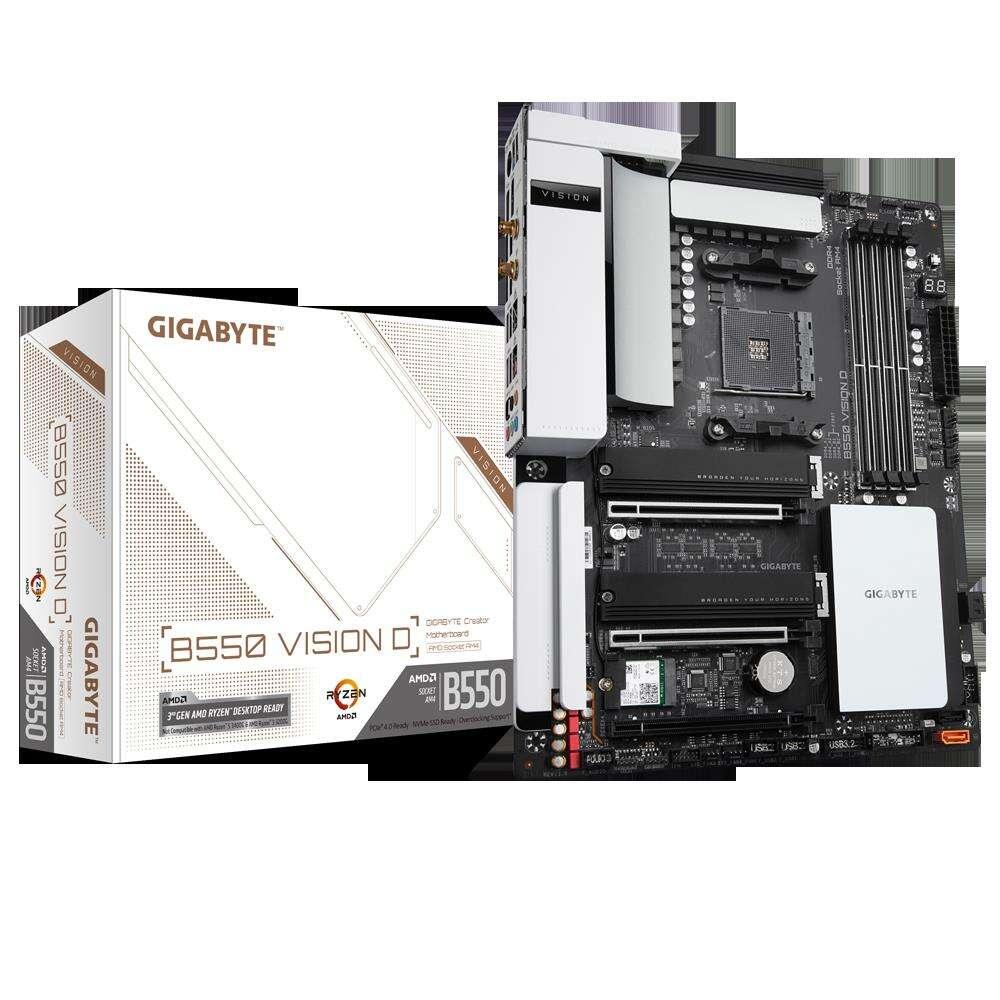Test płyty głównej Gigabyte B550 Vision D