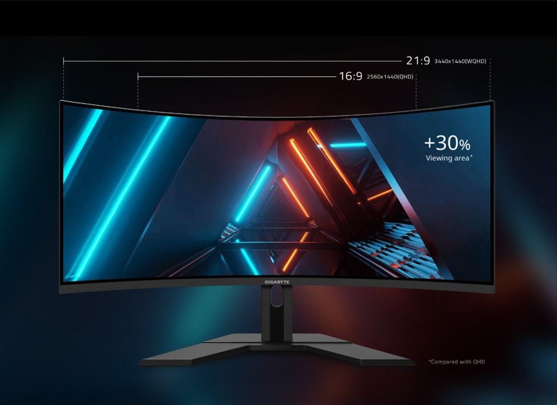Gigabyte prezentuje monitor G34WQC