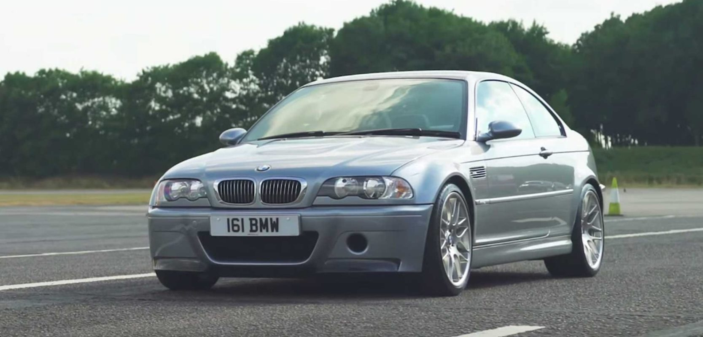 Klasyczne BMW E46 M3 CSL wreszcie może otrzymać jedyną słuszną skrzynie