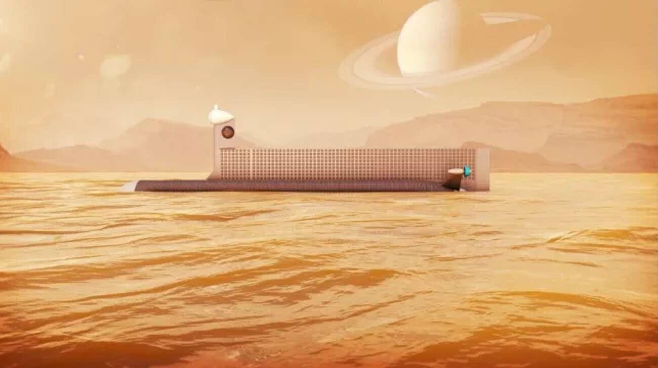 Naukowcy chcą badać księżyc Saturna. Wykorzystają łódź podwodną