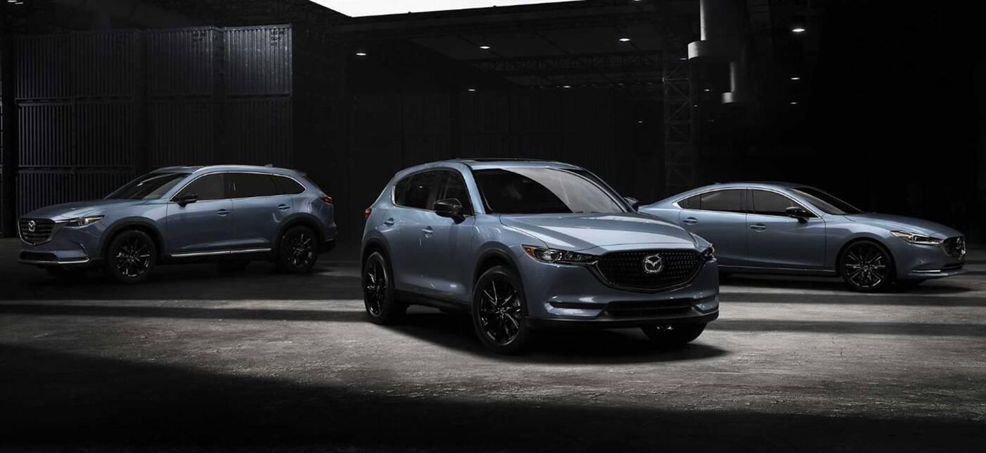 Mazda6, CX-5 i CX-7 w wyjątkowej wersji Carbon
