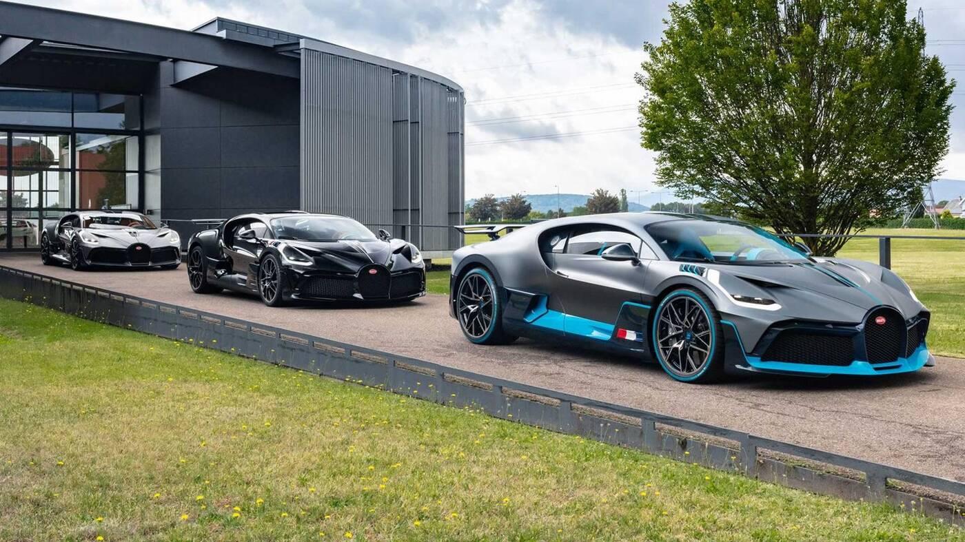 Oto pierwsze hipersamochody Bugatti Divo