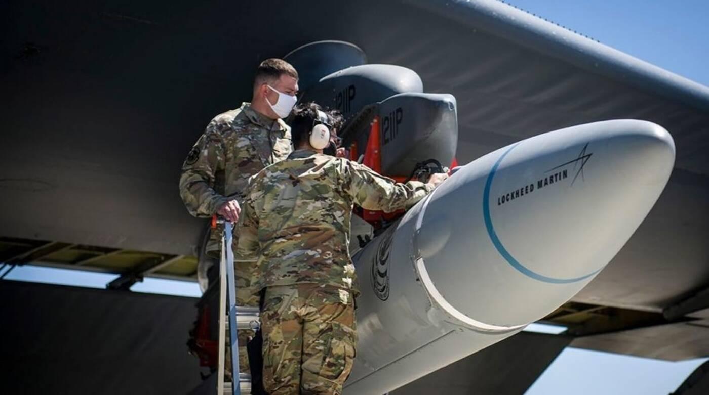 Pierwszy lot ponaddźwiękowego pocisku AGM-183A