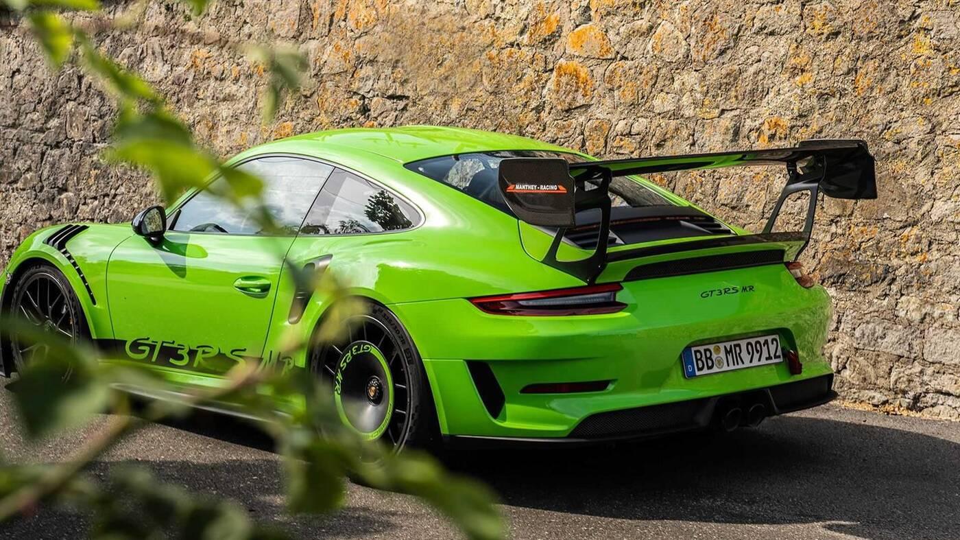 Porsche 911 GT3 RS doczekało się ulepszeń Manthey Racing