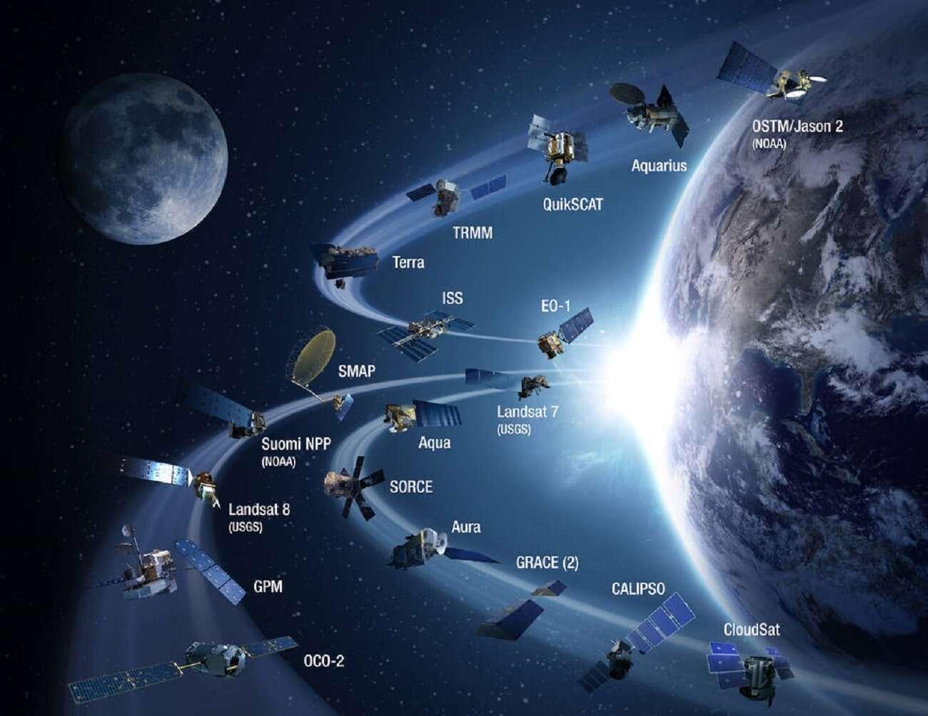 Jak usunąć satelity z orbity? Naukowcy chcą skorzystać z laserów