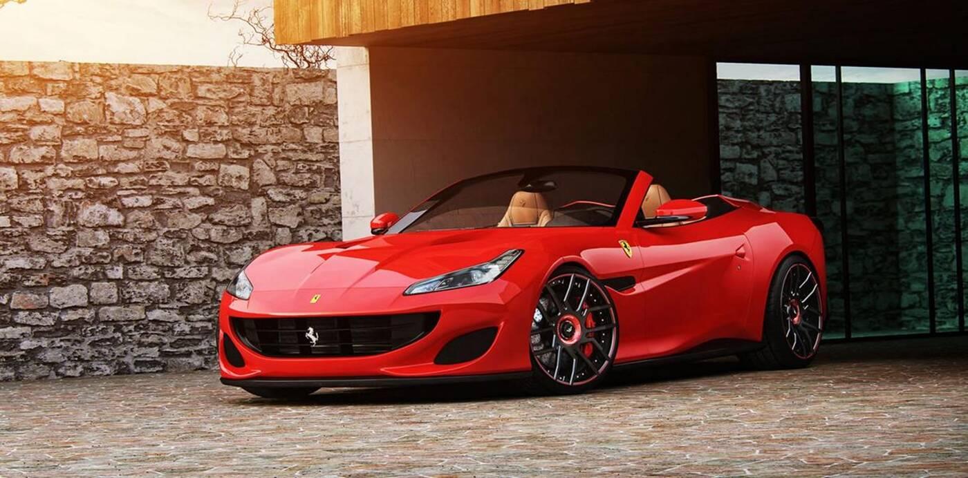 Tajemnicze Ferrari Portofino w obiektywie