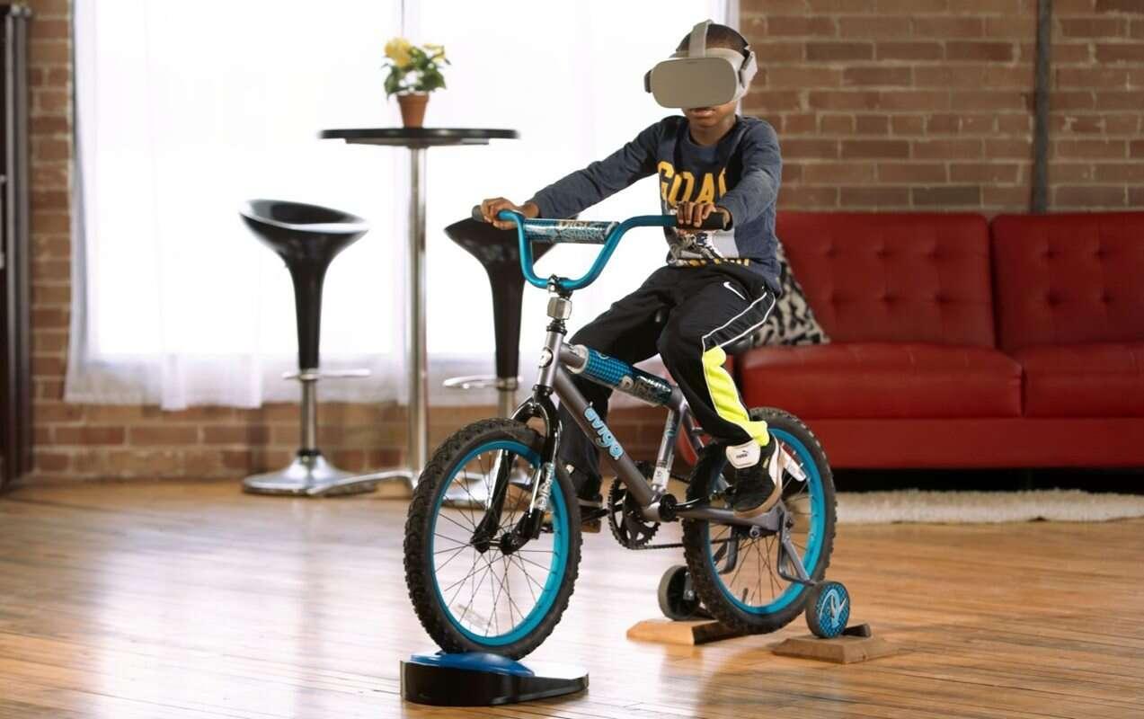 Wypad na rower z zestawem VR na głowie, czyli wirtualna przyszłość