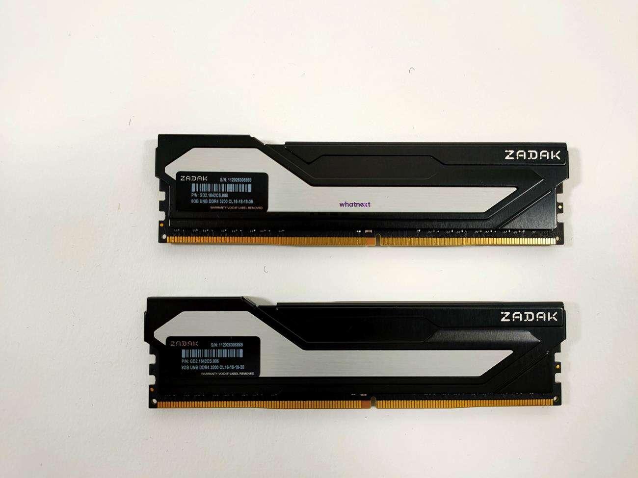 test Zadak Twist 2x 8GB 3200 MHz, recenzja Zadak Twist 2x 8GB 3200 MHz, review Zadak Twist 2x 8GB 3200 MHz, opinia Zadak Twist 2x 8GB 3200 MHz