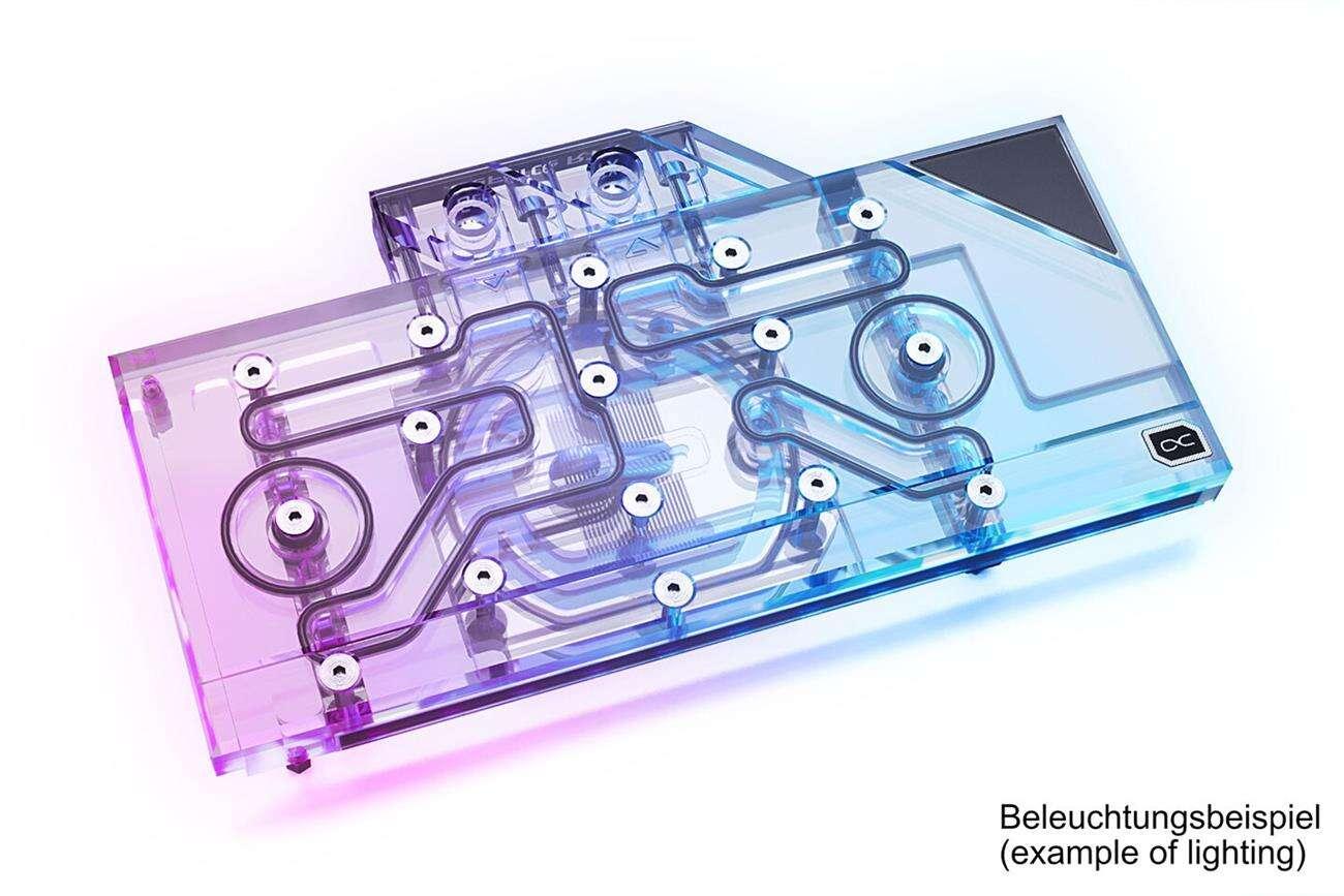 blok Alphacool Eisblock Aurora Plexi GPX-N