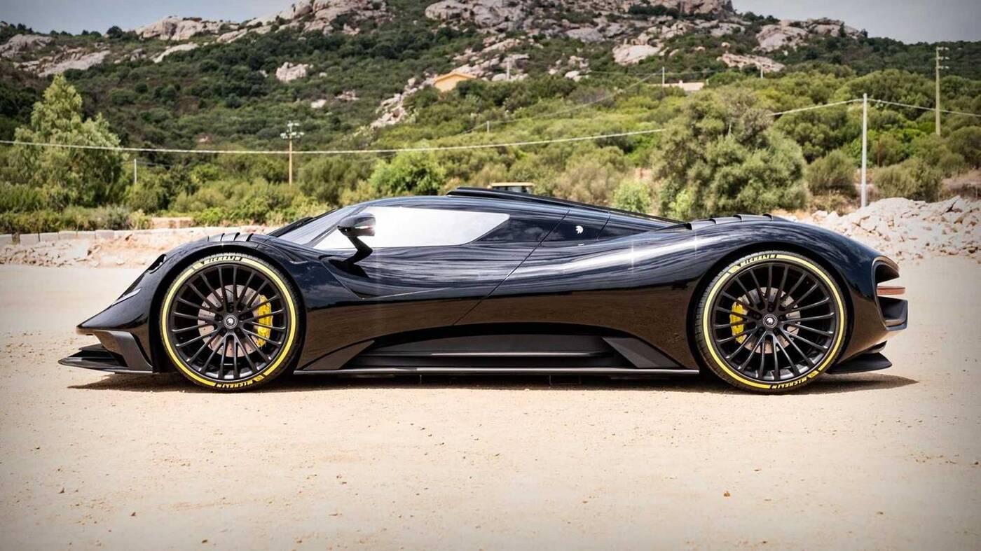 Ares S Project, czyli supersamochód na bazie Corvette C8