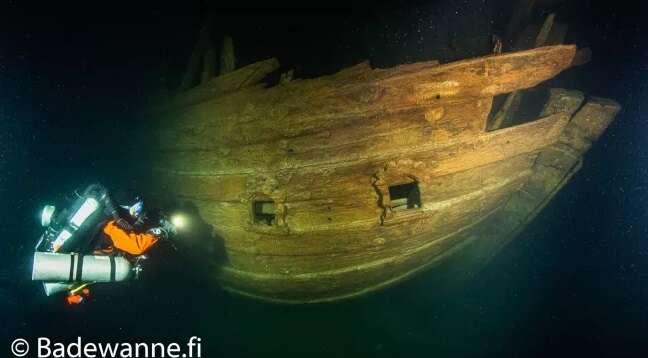 W Bałtyku spoczywa XVII-wieczny statek. Naukowcy podali informacje na jego temat