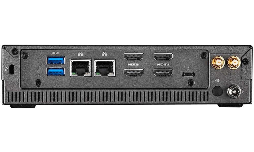 Intel Tiger Lake BRIX Pro
