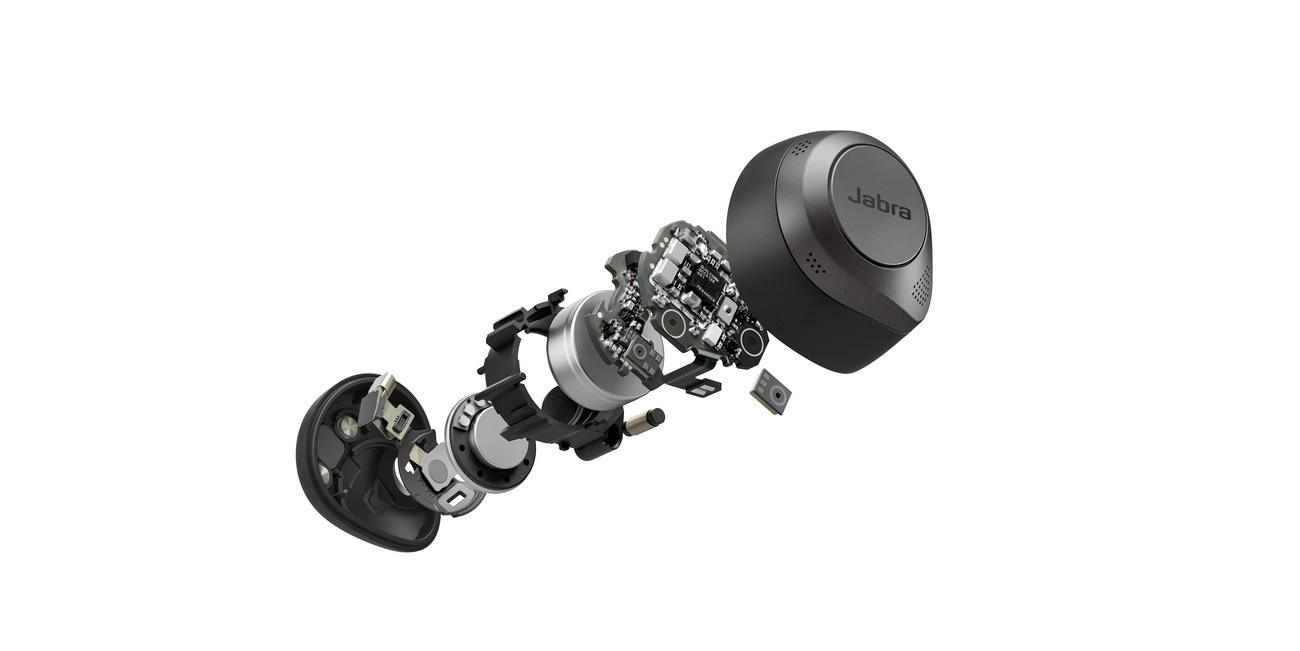 Jabra Elite 85T - firma koloruje słuchawki