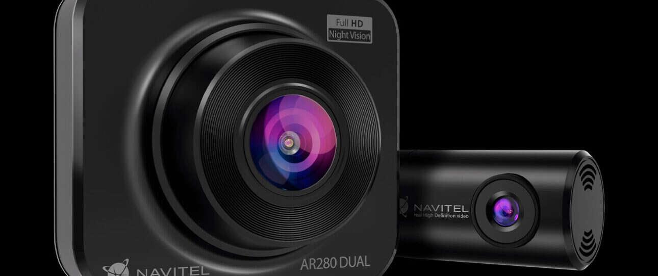 Navitel AR280 Dual – wideorejestrator, który nagra też co się dzieje z tyłu
