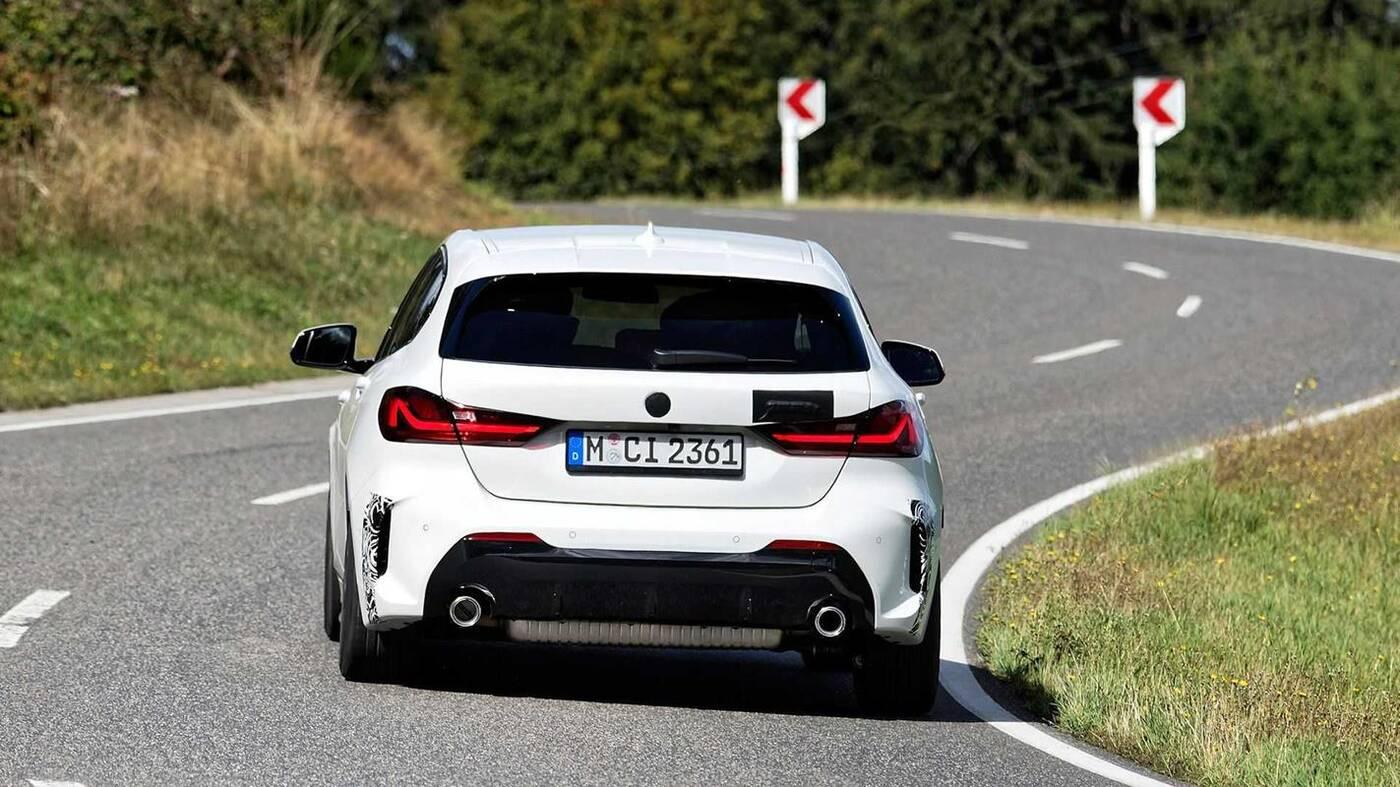 Obejrzyjcie wojaże BMW 128ti na Nurburgring
